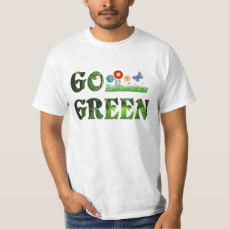 Go green eco-friendly vegetarian save forest T-Shirt