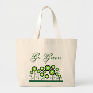 GO GREEN Elegant Tote Bag
