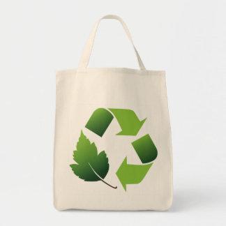 Go Green Environment Tote Bag