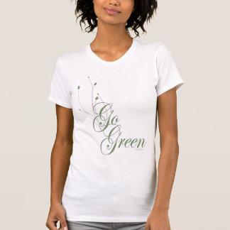 Go Green Floral T-Shirt