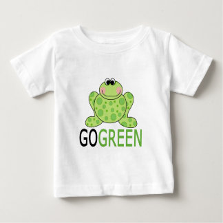 GO GREEN Frog Baby T-Shirt