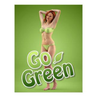 Go Green Girl Belle 21.5 Cm X 28 Cm Flyer