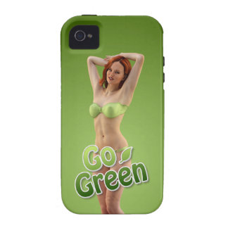 Go Green Girl Belle Case For The iPhone 4