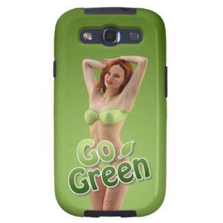 Go Green Girl Belle Galaxy S3 Cases
