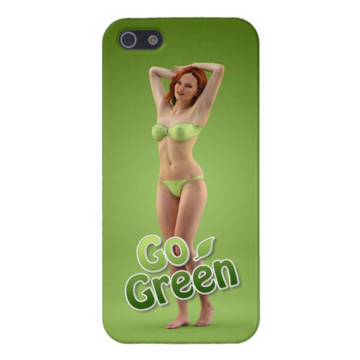 Go Green Girl Belle Covers For iPhone 5