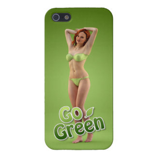 Go Green Girl Belle iPhone 5 Covers