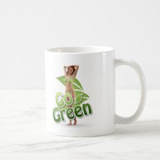 Go Green Girl Belle Mug