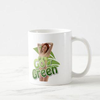 Go Green Girl Belle Mugs