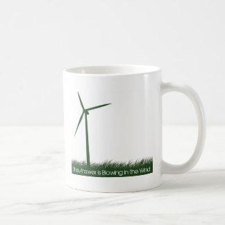 Go Green, Go Clean, Go Renewable Classic White Coffee Mug