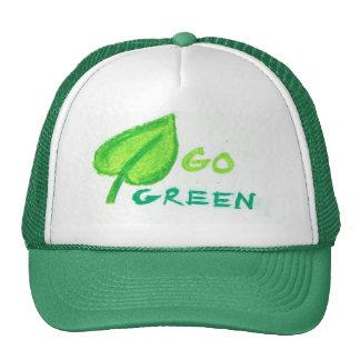 Go Green Trucker Hats