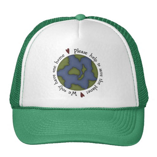 Go Green Hat Men,Ladies,Boys Girls