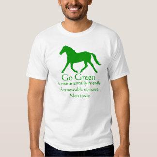 Go Green horse - non toxic T Shirt