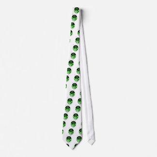 Go green!, ladybug tie