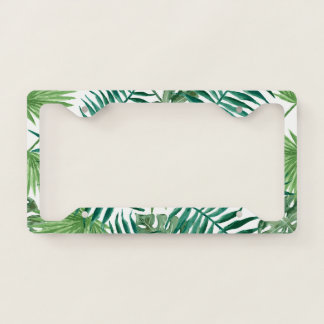 GO GREEN LICENCE PLATE FRAME