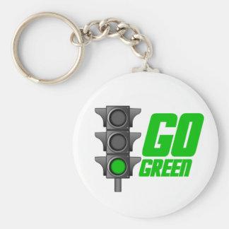 Go Green Light Keychain
