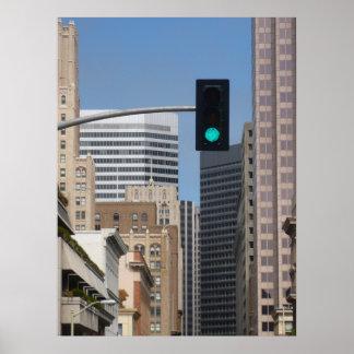 GO GREEN on CITY Environment Print