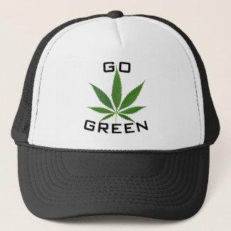 Go Green Pot Leaf Hat