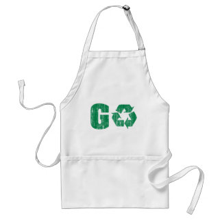 Go Green Recycle Aprons