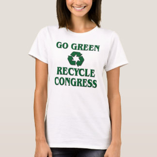 Go Green - Recycle Congress T-Shirt