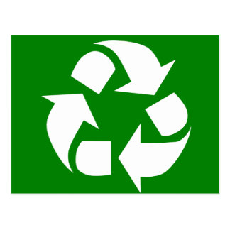 Go Green! Recycle Postcard