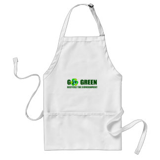 GO GREEN. RECYCLE THE GOVERNMENT STANDARD APRON