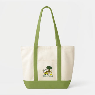 Go green. Reduce, reuse, recycle. Rain forest. Impulse Tote Bag