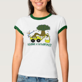 Go green. Reduce, reuse, recycle. Rain forest. T-Shirt