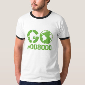 Go Green RGB CMKY T-Shirt
