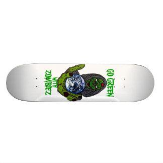 GO GREEN SKATE DECKS