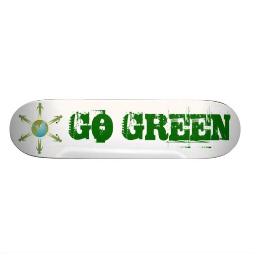 Go Green Skateboard