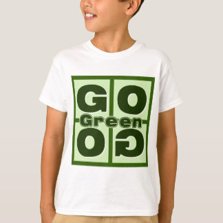 Go Green Square T-Shirt
