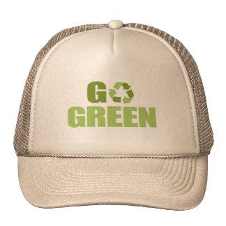 Go Green T-shirt Cap