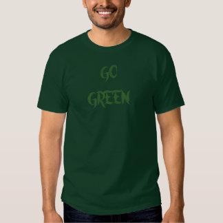 GO GREEN-T-SHIRT SHIRTS