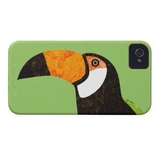 Go Green Toucan Toco Case-Mate iPhone 4 Cases