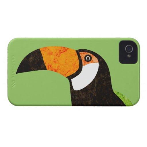 Go Green Toucan Toco Blackberry Bold Cases