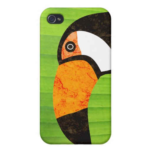 Go Green Toucan Toco iPhone 4 Covers