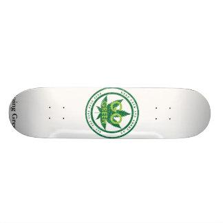 go_green_v2, Going Green Skate Boards