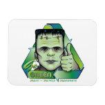 Go Green Vinyl Magnet