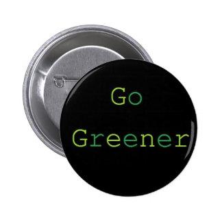 Go Greener 6 Cm Round Badge