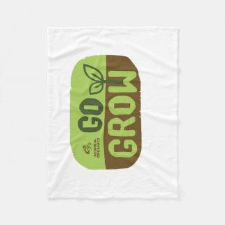 Go Grow Georgia Organics Fleece Blanket Small