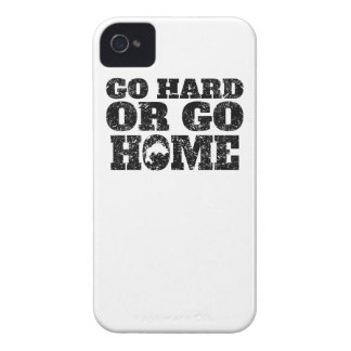 Go Hard Or Go Home Fishing Case-Mate iPhone 4 Case