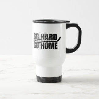 Go Hard or Go Home (Hockey) Stainless Steel Travel Mug