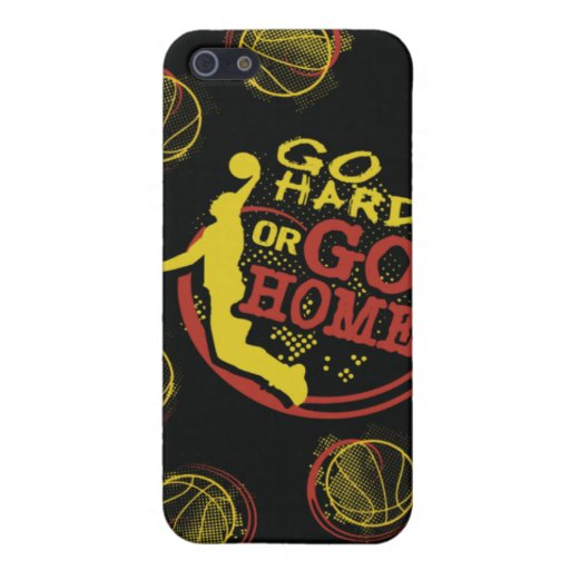 Go Hard or Go Home iPhone Skin iPhone 5 Case