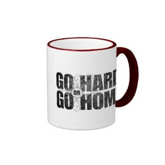 Go Hard or Go Home Ringer Mug