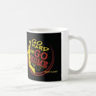 Go Hard or Go Home - Sporty Slang Basketball Mug