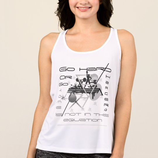 Go harder Women's All Sports Performance Tank Top