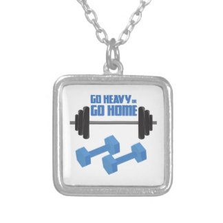 Go Heavy Or Go Home Necklace