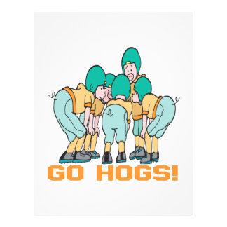 Go Hogs Flyers