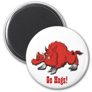Go Hogs! - Magnet