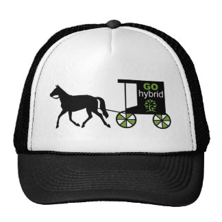 Go Hybrid! Horse & carriage Hats